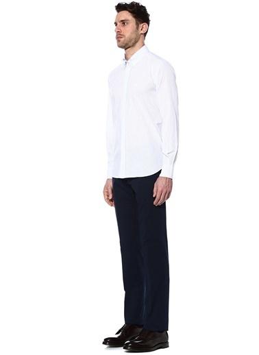 Oxford Yaka Uzun Kollu Gömlek-Corneliani Id